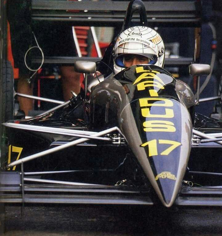 #17 Gabriele Tarquini...AGS Racing...AGS JH25...Motor Ford Cosworth DFR V8 3.5...GP Monaco 1990