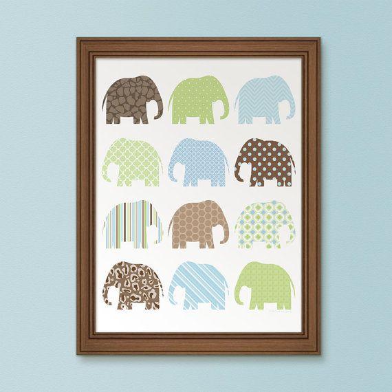 colourful elephant