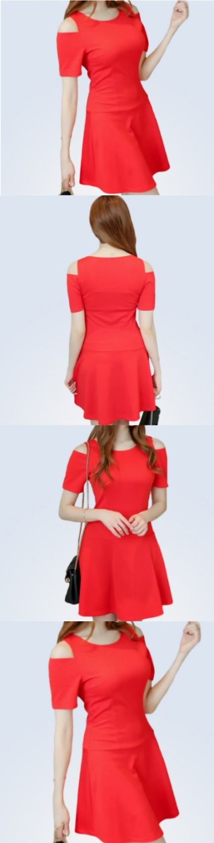 Red Tunic Dress! Click The Image To Buy It Now or Tag Someone You Want To Buy This For. #RedDress