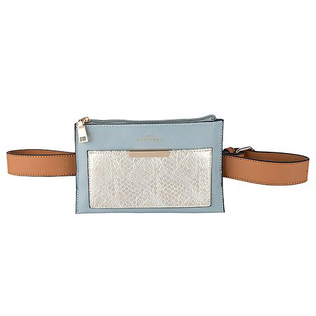Now that's a fresh way to upgrade your look. Can you see it? #achilleas_accessories, belt bag, style