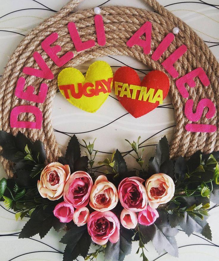 Develi ailesi iyi günlerde kullansın (25 tl) #kapısüsü #evdekorasyonu #kadin #kadın #hediye #hediyelik #paspas #düğün #gelin #ceyiz #ceyizhazirligi #nişan #nisan #siparis #kece #kecetasarim http://turkrazzi.com/ipost/1515136377330964714/?code=BUG2IH1FZjq