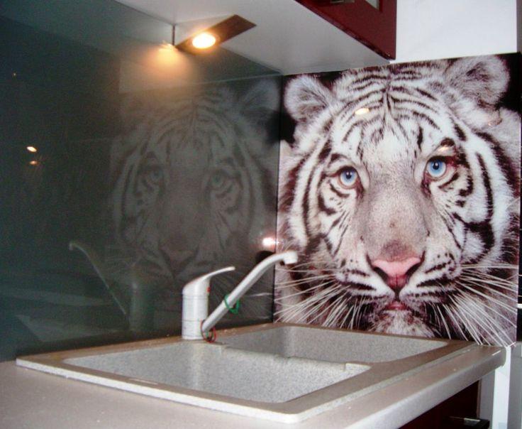 Panele do kuchni, tygrysek