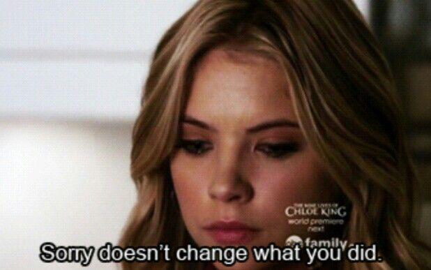 Pretty little liars quote