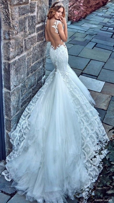 Robe de mariée sirène et très sexy de la marque Galia Lahav