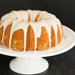 Eggnog Bundt Cake with Rum Icing   Brown Eyed Baker