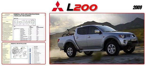 Mitsubishi L200 2009 Workshop Manual Repair Manuals Mitsubishi Workshop