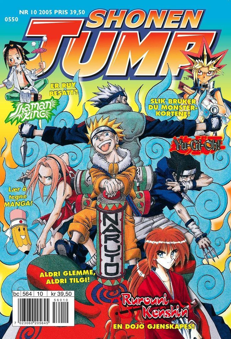 Shonen Jump, Japansk tegneserie