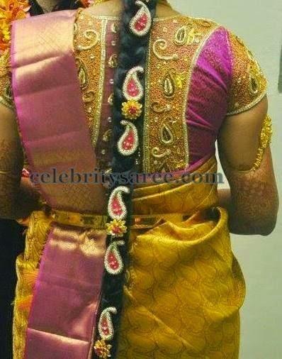 High Neck Bridal Blouse | Saree Blouse Patterns