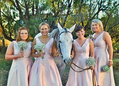 Bridesmaids - country style