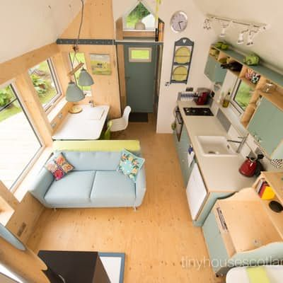 The model pictured comprises a total floorspace of 25 sq m (269 sq ft), but the...