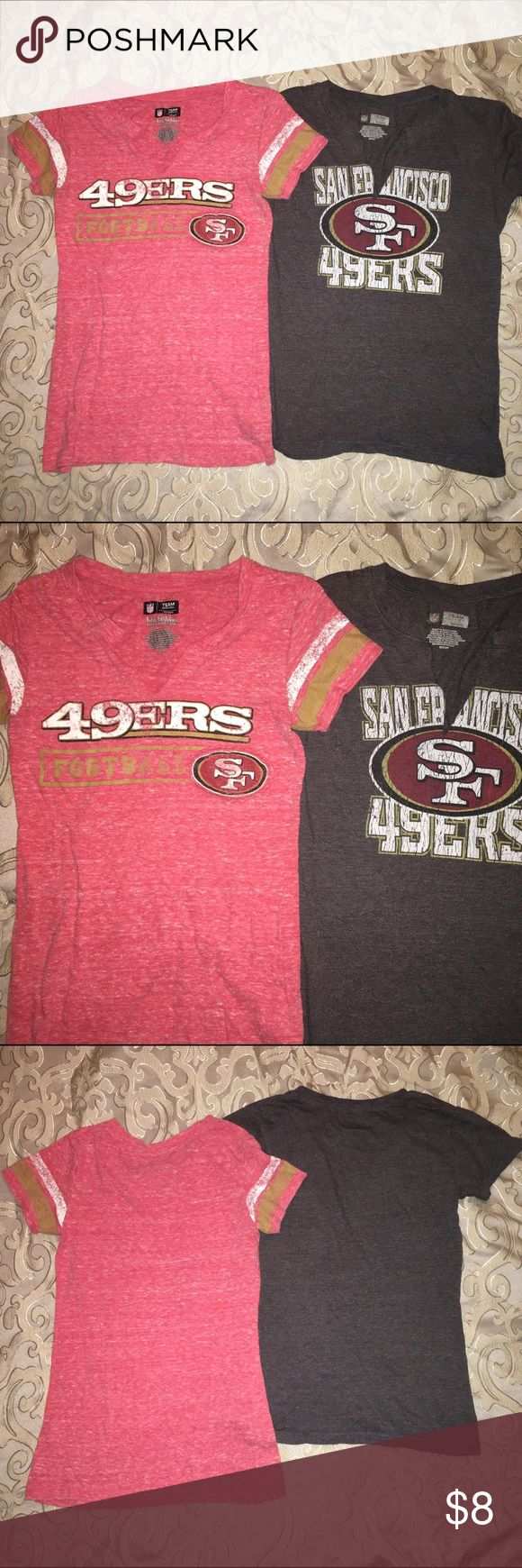 NFL Apparel Bundle San Francisco NFL Team Apparel , worn a few times NFL Apparel Tops