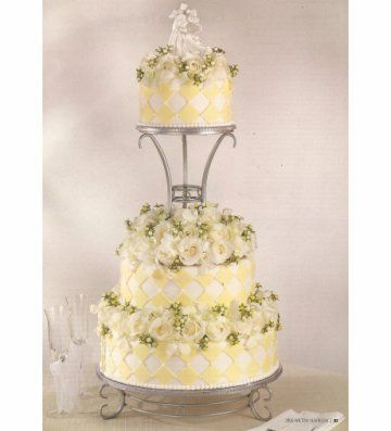 Unusual Wedding Cakes - Square Wedding Cake