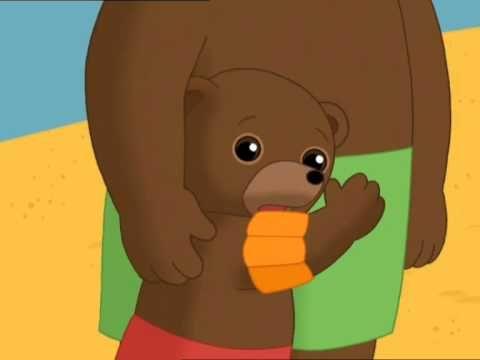 Les 17 meilleures images du tableau petit ours brun sur pinterest images livres colorier et diy - Petit ours brun piscine ...