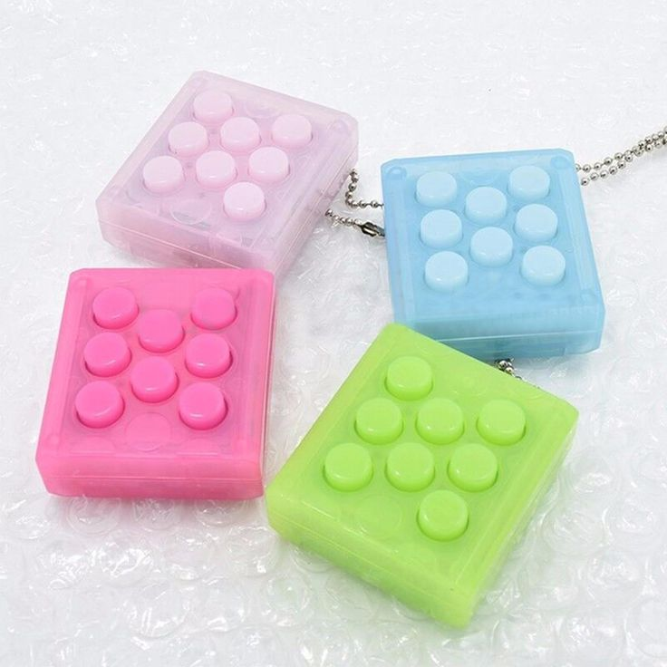 New Electronic Bubble Wrap Keychain Stress Relief Japanese Toy Mugen Puchi Puchi…