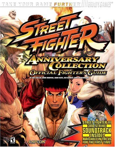 Street Fighter Anniversary Collection Official Strategy Guide (Bradygames) @ niftywarehouse.com #NiftyWarehouse #StreetFighter #VideoGames #Gaming