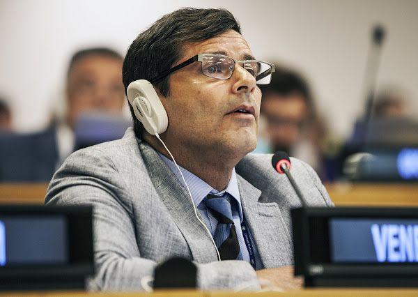 Isaías Medina renunció a sus funciones en la ONU