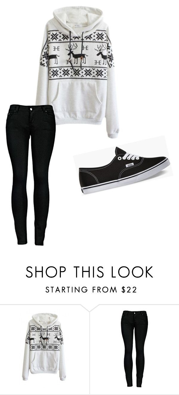"""Cozy"" by stephanieescalante on Polyvore featuring 2LUV and Vans"