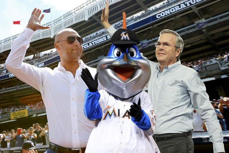 Jeb Bush y Derek Jeter se quedan con los Marlins de Miami por $1300 millones
