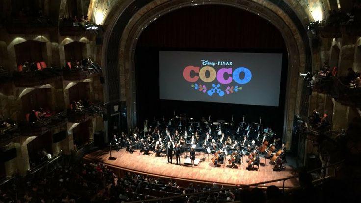 Avant Premiere COCO, de Disney•Pixar | Palacio de Bellas Artes | México
