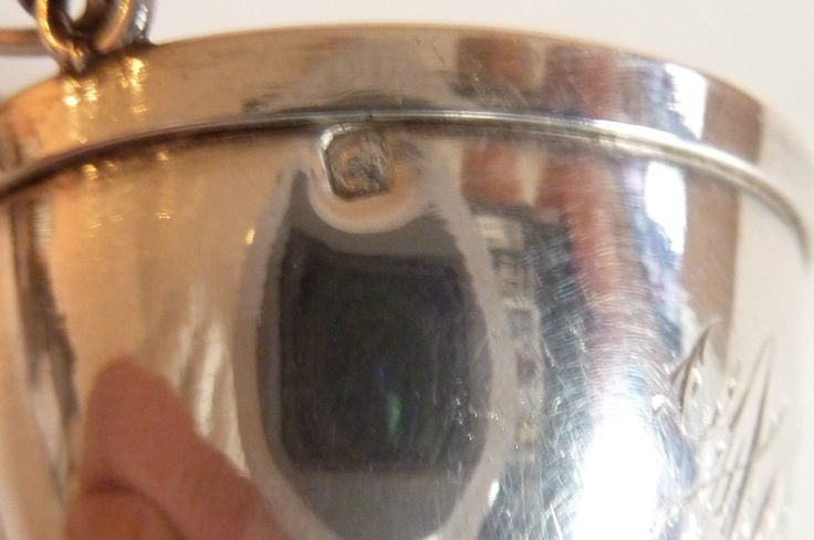 Réf 64-Passoire à thé argent massif poinçon Minerve XXème monogramme A-C | Art, antiquités, Objets du XIXème, et avant | eBay!