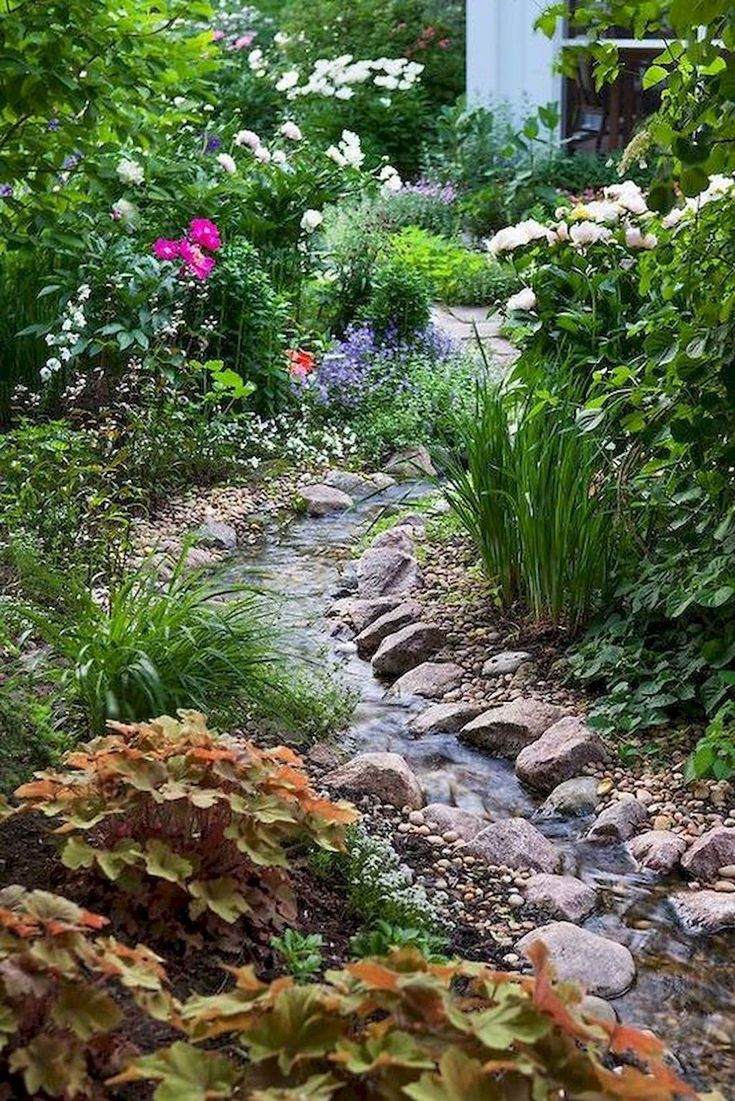 25 beautiful small backyard ponds ideas on pinterest for Beautiful small ponds
