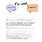 Spanish-English COGNATES practice!  Yay!