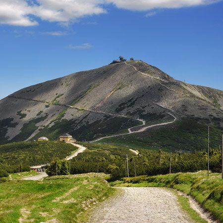 Snezka / the highest mountain of Czech Republic