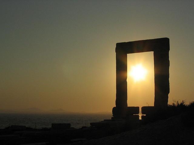 Naxos, Greece - the gateway for Apollo.
