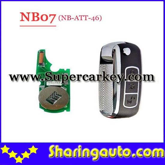 57.66$  Watch more here - Free shipping (5 Pcslot)Keydiy KD900 NB07 3 button remote key with NB-ATT-46 model for Touareg,A8,Renault etc   #magazineonlinebeautiful