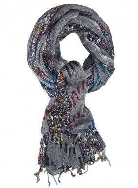 Scarf4All Ikat Tweed Scarf. Buy @ http://thehubmarketplace.com/Ikat-Tweed-Scarf