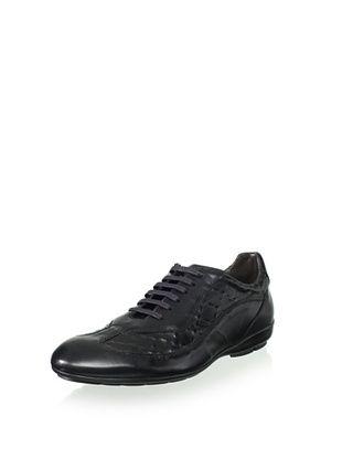 50% OFF Bacco Bucci Men's Arno Street Sport Sneaker (Black)