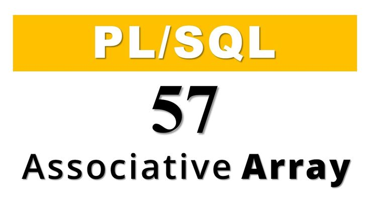 What's up Internet? The wait is now over! Here I present to you the latest plsql tutorial on Collection ASSOCIATIVE ARRAY.  In this video you will learn –  - What are Associative Arrays? - How to create Associative Arrays? - How to Insert & Update the data of Associative Array and - How to retrieve the data from an Associative array using two different ways?