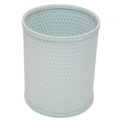 Rebrilliant 2.6 Gallon Waste Basket Color: Illusion Blue