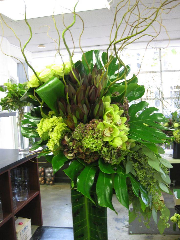 Innovative Modern Large Floral Arrangements Slubne Suknie Info