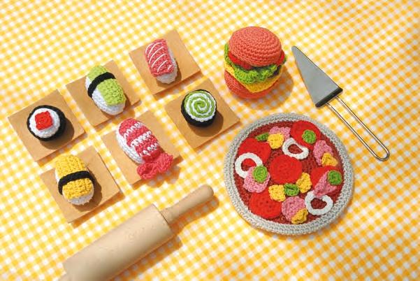 Crochet Food :)