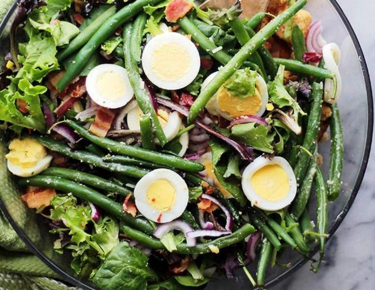 Σαλάτα με φασολάκια και αυγά για όσους κάνουν δίαιτα - Jenny.gr