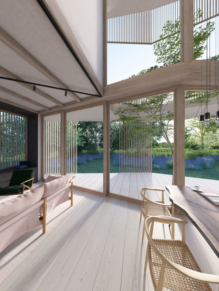 8 best ekkist blueprint ori house images on pinterest ekkist ori house blueprint double height dining area featuring oak and douglas fir timber shading screens malvernweather Choice Image