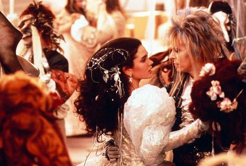 David Bowie and Jennifer Connelly from Labyrinth!