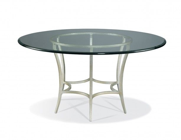 Hickory White - 550-09_GL-60 Round Dining Table