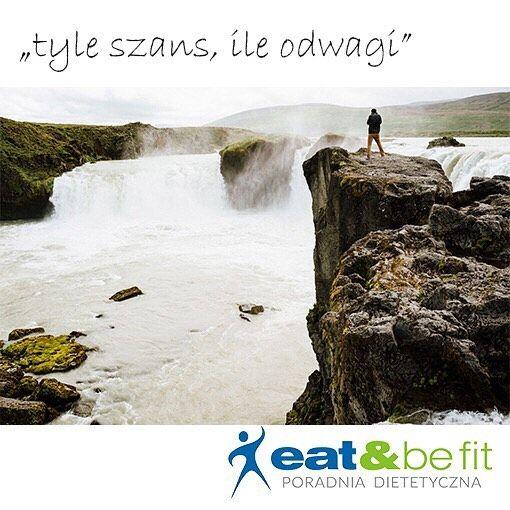 Dzień dobry! 😊 Odwagi!  #eatbefit #motywacja #motywator #mozeszwszystko #odwaga…