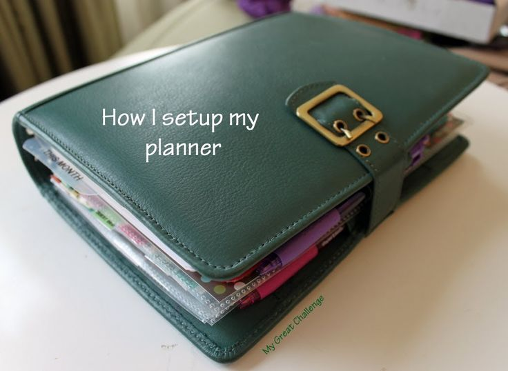 My Planner Setup - Part One - Focus Filofax franklin covey planner setup