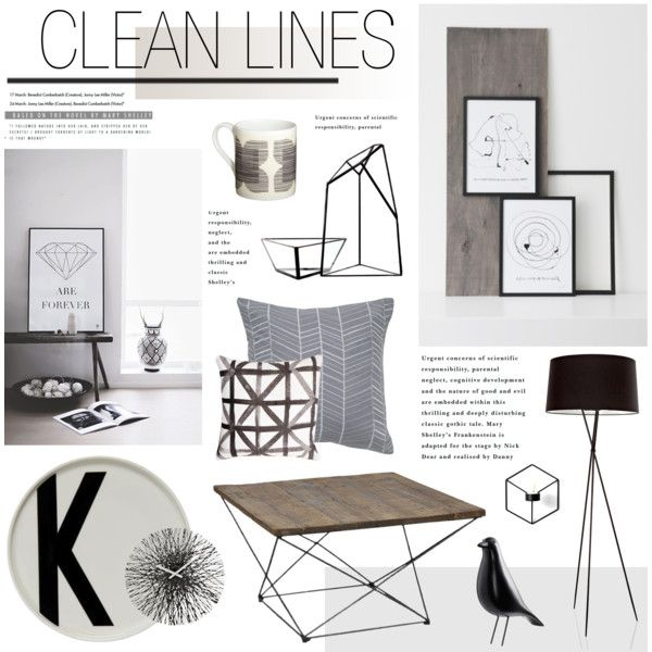 """""""Clean Lines"""" by bellamarie on Polyvore"""