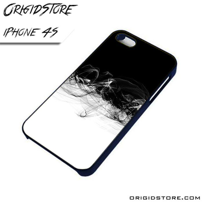 Black and White Abstract 1 AL iPhone 4/4S case