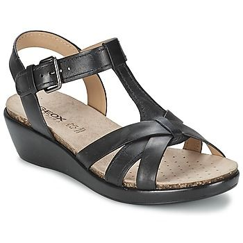 Geox always makes amazing shoes, and these are stylish for summer day or night! #shoes #sandals #leather #straps #geox #rubbersole #uk