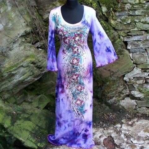 Šaty malované www.simira.cz 1120,-Kč