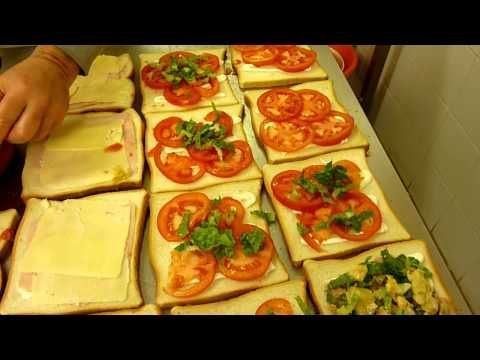 Come fare i Tramezzini - Mignon da rinfresco - Video - YouTube