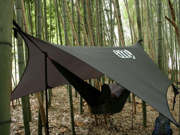 ENO ProFly Rain Tarp --- Tent shaped hammock tarp for summer/rain weather camping!
