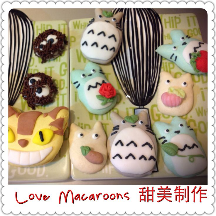 https://www.facebook.com/timmymacaroons ⭐️Cute Macaron⭐by Love Macaroons⭐️ Totoro 龍貓 馬卡龍