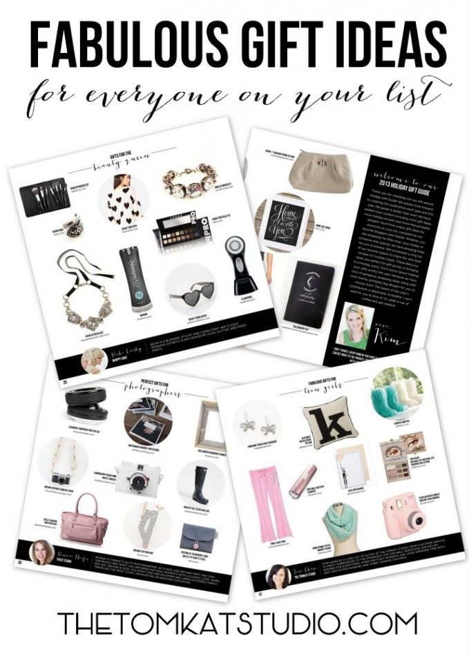 tomkat holiday gift guide - beautiful gift guide (the little wallet bottom center is mine!)