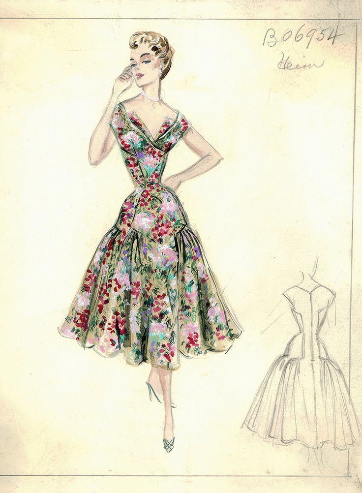 ana_lee: Bergdorf Goodman Archives. Day Dresses Ensembles